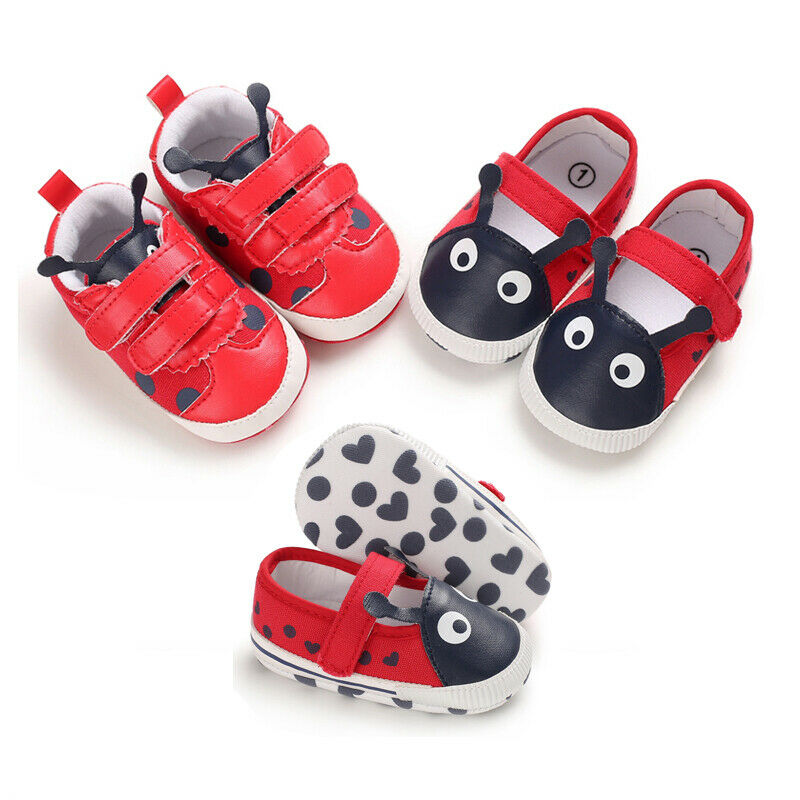 Newborn Infant Toddler Sneaker Baby Boy Girl Soft Sole Crib Shoes 0-18 Months