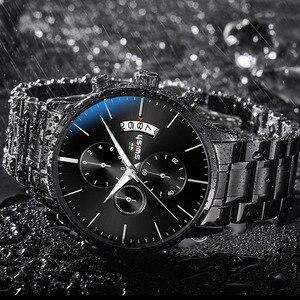 Image 3 - SWISH zegarek mężczyźni 2020 wodoodporna stal nierdzewna moda Sport zegarek kwarcowy zegar zegarki męskie Top marka Luxury Man zegarek