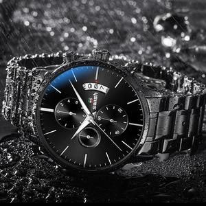 Image 3 - Swish Horloge Mannen 2020 Waterdicht Roestvrij Staal Fashion Sport Quartz Horloge Klok Heren Horloges Top Brand Luxe Man Horloge