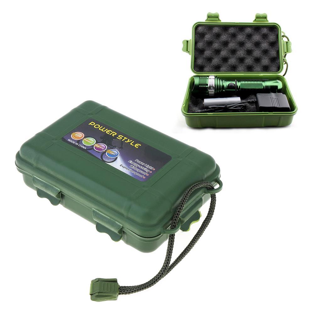 130x80x35 мм Универсальный Водонепроницаемый Анти осенний зеленый пластиковый ящик для хранения подходит для вспышки светильник зарядное устройство чехол инструменты|box for|box for flashlightbox box | АлиЭкспресс