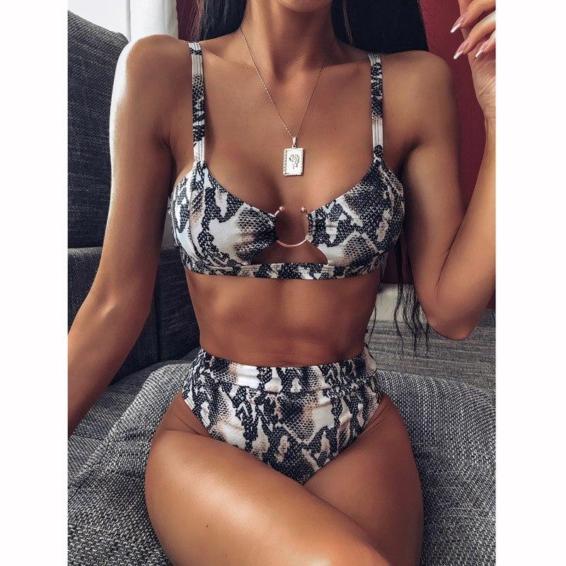 DJ305101-Sexy Women Bikini Thong Swimsuit