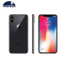 Apple iPhone Original X Face ID iOS A11 Chip Hexa Core 64GB/256GB Rom 3GB de Ram 5,8 pulgadas pantalla 12MP 4G LTE móvil teléfono