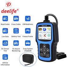 лучшая цена Deelife OBD2 Professional Automotive Scanner ODB2 Auto Self Diagnosis OBD Car Diagnostic Tool for ODB II OBD 2 Code Reader