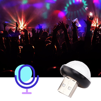 LED Car USB Atmosphere Light DJ RGB Lamp For BMW X1 X3 X5 F10 F01 F11 F20 F30 F31 E34 E36 E70 E87 E39 E60 E46 E91 E92 Decoration image