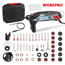 Drill-Grinder Rotary-Tool-Kit WORKPRO Electric Mini Ce Shaft 182piece-Accessories Engraver