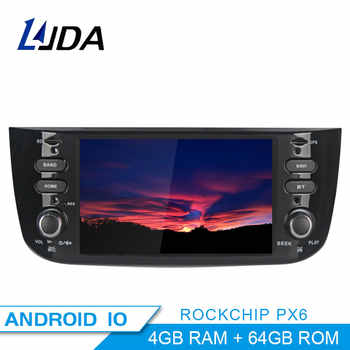PX6 1 din Auto Radio Android 10.0 Car Multimedia Stereo For Fiat Grande Punto Abarth Punto EVO Linea 2012 2013 2014 2015 WIFI - DISCOUNT ITEM  23 OFF Automobiles & Motorcycles