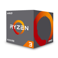 AMD Ryzen 3 1200 R3 1200 CPU Original Processor Quad Core Socket AM4 3.1GHz 10MB TDP 65W Cache 14nm DDR4 Desktop with Cooler Fan
