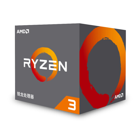 AMD Ryzen 3 1200 R3 1200 CPU Original Processor Quad-Core Socket AM4 3.1GHz 10MB TDP 65W Cache 14nm DDR4 Desktop With Cooler Fan