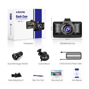Image 5 - AZDOME Dash kamera FHD 1080P gece görüş, 3 inç IPS ekran Dash arabalar için, ön panel kamerası DVR park monitörü