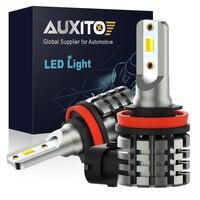 AUXITO 2 uds Color Dual Switchback bombilla para luces antiniebla LED H8 H11 H16JP Daytme corriendo Luz de niebla de la lámpara 6000K 3000K de oro amarillo