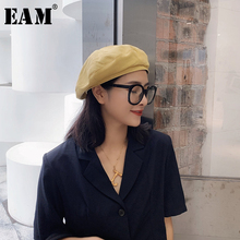 Personality Summer Fishermen Hat Spring Round Fashion Women New Dome Tide EAM Solid Temperament