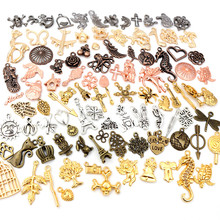 Jewelry-Findings Charms Pendants Bracelet Necklace Flower-Crown Making-Accessories Mixed-Styles