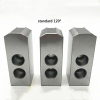 8 10 12 inch 120 Degree Standard Hollow Soft Jaw for CNC Lathe Holder Cutting Tool Machining