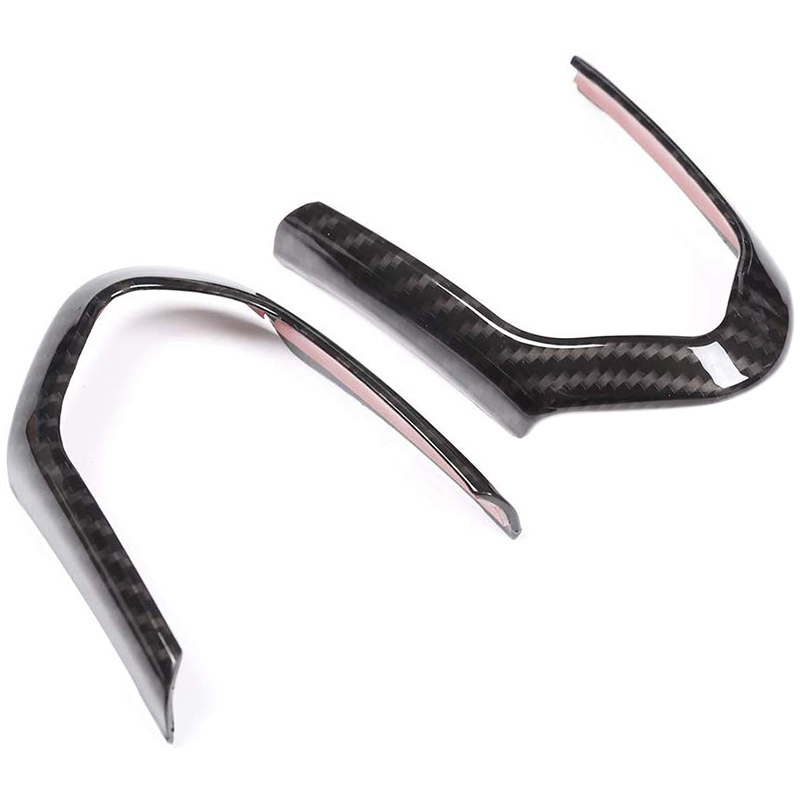 Car <font><b>Steering</b></font> <font><b>Wheel</b></font> Decoration Frame Accessories Cover Trim Carbon Fiber Style for <font><b>BMW</b></font> <font><b>F20</b></font> F22 F21 F30 F32 X5 F15 X6 F16 M-Sport image