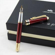 Jinhao новая красивая перьевая ручка с красными драконами и
