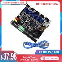 Placa de Control BIGTREETECH BTT SKR E3 Turbo de 32 bits, compatible con MINI E3 V2 para Ender3, actualización TMC2209 UART, piezas de impresora 3D, TFT35, E3, CR10
