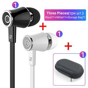 Image 5 - Langsdom Mijiaer JM21 3.5mm kulaklık kablolu kulaklık 2 adet 1 adet fermuarlı saklama çantası için en iyi maç taşıma dışında