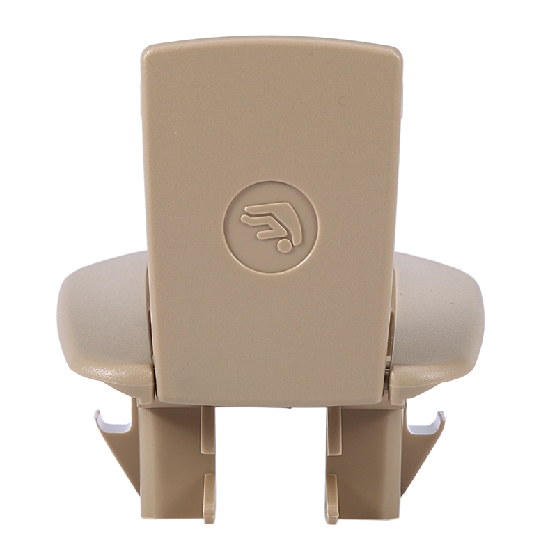Car Rear Seat Safety Hook Cover Child Restraint For BMW X1 E84 3 Series E90 F30 1 Series E87 Beige