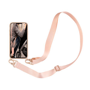 Phone-Case Cord-Lanyards Necklace 8-Plus cover Crossbody Silicone Luxury with Rope