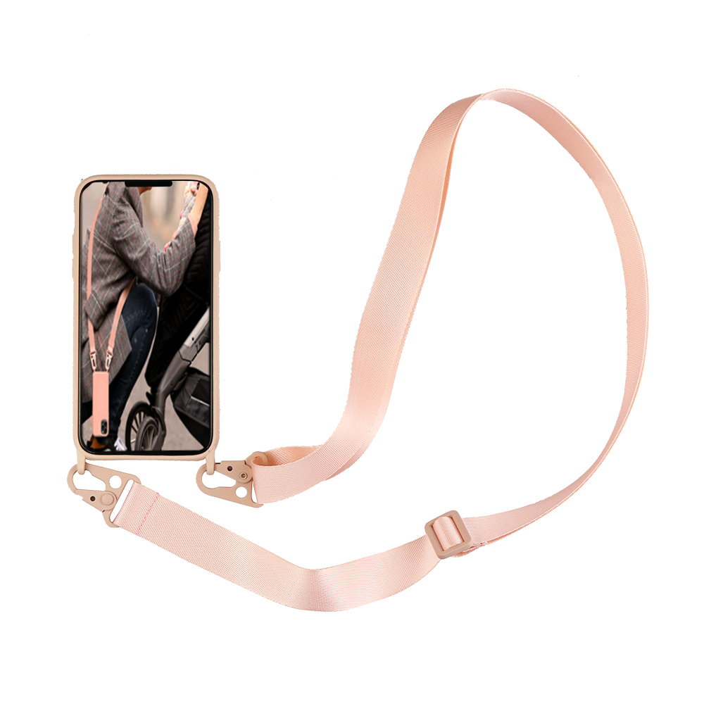 Luxury Silicone Phone Case Crossbody Necklace Cord Lanyards With Rope For iphone SE 2020 X XR XS 11 Pro Max 6 6S 7 8 Plus Cover