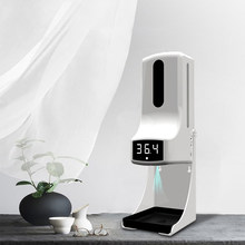 Dispensador automático de jabón líquido K9 PRO, Sensor inteligente, termómetro infrarrojo sin contacto, Digital, para lavado de manos