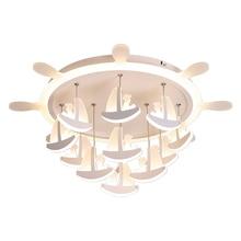 Chandelier Lighting for Living room baby bedroom Acrylic Boat Ceiling girls boys children Bedroom