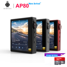 Hidizs AP80 Hi Res ES9218P Ультрапортативный Bluetooth HIFI музыкальный mp3 плеер LDAC USB DAC DSD 64/128 FALC DAP