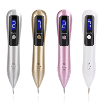 New LCD Plasma Pen LED Lighting Laser Tattoo Mole Removal Machine Face Care Skin Tag Removal Freckle Wart Dark Spot Remover new arrivals electric laser age spot pen mole scars warts freckle tattoo removal machine with lcd display