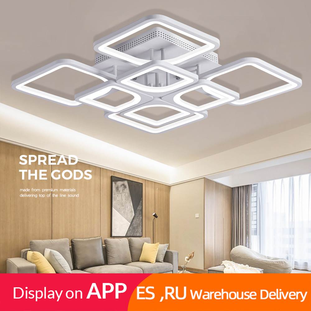 2019 Modern led ceiling lights plafond lamp lustre suspension for living dining room kitchen bedroom home Innrech Market.com
