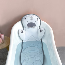 Full Body Bath Pillow with No-Slip Suction Cups, Extra Wide Spa Bathtub Mattress for Neck Shoulder and Back Support