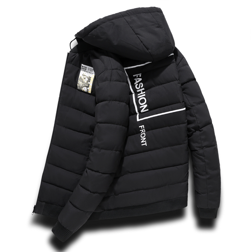 Plus Size 10XL-4xl Men New Arrivals Jackets Casual Thick Men 's Wild Fashion Hooded Jacket Men Coat Winter Jacket Parka Clothing