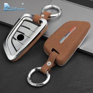 Image 2 - Capa para chave de carro de airspeed, cobertura para chave em carro para bmw f22 f30 f36 f10 f13 f01 f25 f26 f15 f16 f48 acessórios f39, g30, g11, g05, g01, g02