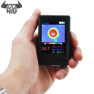 Image 1 - DANIU Protable HY 18 MLX90640 Handheld Thermograph Camera Infrared Temperature Sensor Digital Infrared Thermal Imager