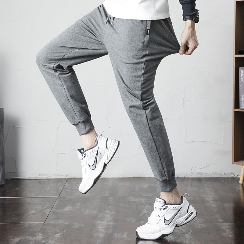Grey Mens Sport Pants Joggers Sweatpants Men Clothes Casual Harem Pants for Men Streetwear Track Running Trousers Oversize 4XL