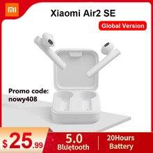Xiaomi-Auriculares inalámbricos con bluetooth, audífono aéreo básico, versión global verdadera, TWS Mi Air2 SE, batería 20H y con control táctil