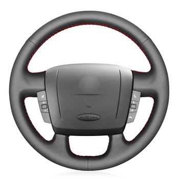 Czarna skórzana osłona na kierownicę do samochodu fiat ducato 2006-2019 Ram ProMaster (Cargo) (podwozie kabiny) (okno) 2017-2020 tanie i dobre opinie CN (pochodzenie) Faux leather Kierownice i piasty kierownicy 0 15kg Protect your steering wheel 16cm for Fiat Ducato 2006-2019 Ram ProMaster (Cargo) (Cab Chassis) (Window)