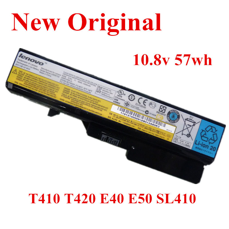 New Original Laptop replacement Li-ion <font><b>Battery</b></font> for <font><b>Lenovo</b></font> T410 T430 <font><b>L430</b></font> T530 T420 E40 SL410 SL510 T410I 10.8v 57wh image