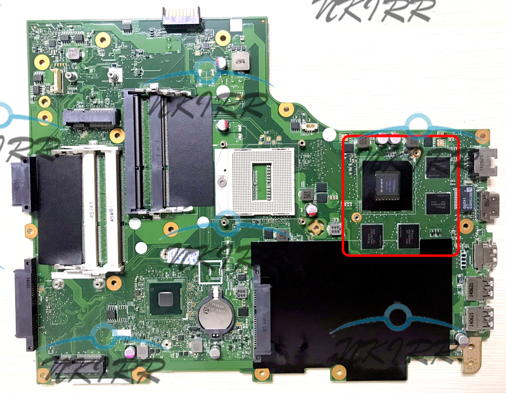 VA70HW MAIN_BD_GDDR5 REV: 2,0 GTX850M DDR5 NBMMB11001 материнская плата для Acer Aspire E1-772 V3-772