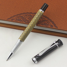 JINHAO Luxury Gift Pen High Quality Roller ball Pen Metal Ballpoint Pens for office Gift office signature pen Stationery supplie