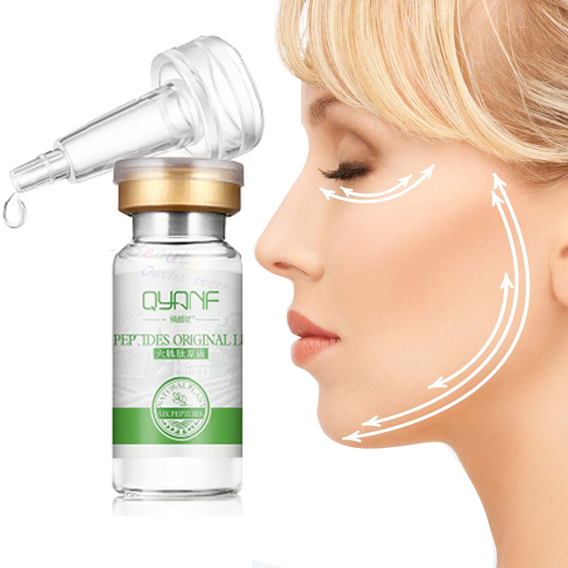 Argireline+Aloe Vera+Collagen Six Peptides Hyaluronic Serum Anti Wrinkles Serum For Face Cream Whitening Skin Care Anti-Aging