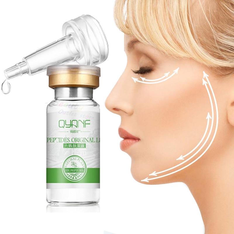 Argireline+Aloe Vera+Collagen Six Peptides Hyaluronic Serum Anti Wrinkles Serum For Face Cream Whitening Skin Care Anti-Aging