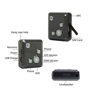 Image 4 - Mini GPS Tracker Children Kids RF V16 Hand free Talk 2G GSM GPS Locator 12 days Standby SOS Call Voice Monitor Free APP Tracker