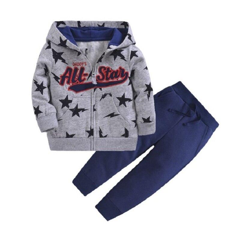 Одежда для маленьких девочек пальто с капюшоном с длинными рукавами и вышитым единорогом+ штаны, г. Весенняя одежда для маленьких мальчиков комплект для малышей, одежда для малышей - Цвет: 12