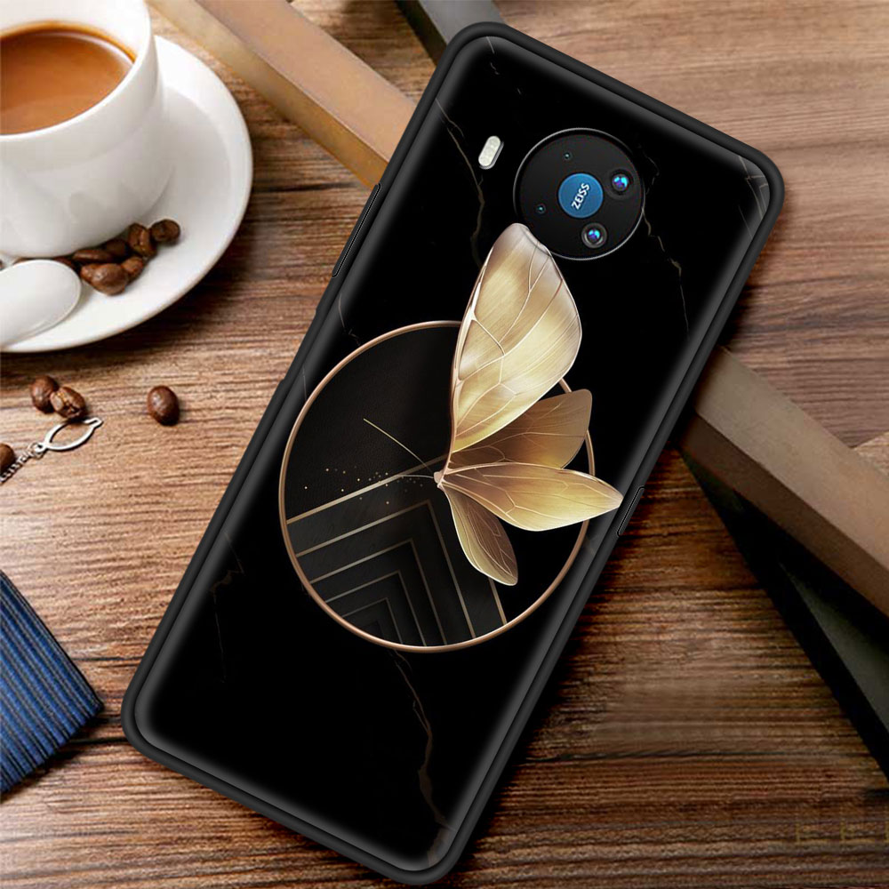 Glowing Butterfly For Phone Case Nokia 1.3 1.4 2.2 2.3 2.4 3.2 3.4 4.2 5.3 5.4 7.2 8.3 5G C3 C2