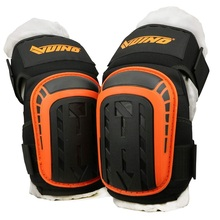 Knee-Pads Cushion Flooring Construction Heavy-Duty Work Comfortable with Foam-Padding