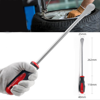 1pcs Motorcycle Bicycle Tire Changing Levers Spoon Tire Iron Tire Changing Lever Tools Professional Tire Repair Tool 3pcs steel curved tyre tire lever repair tool bicycle tools bicycle tire repair tools