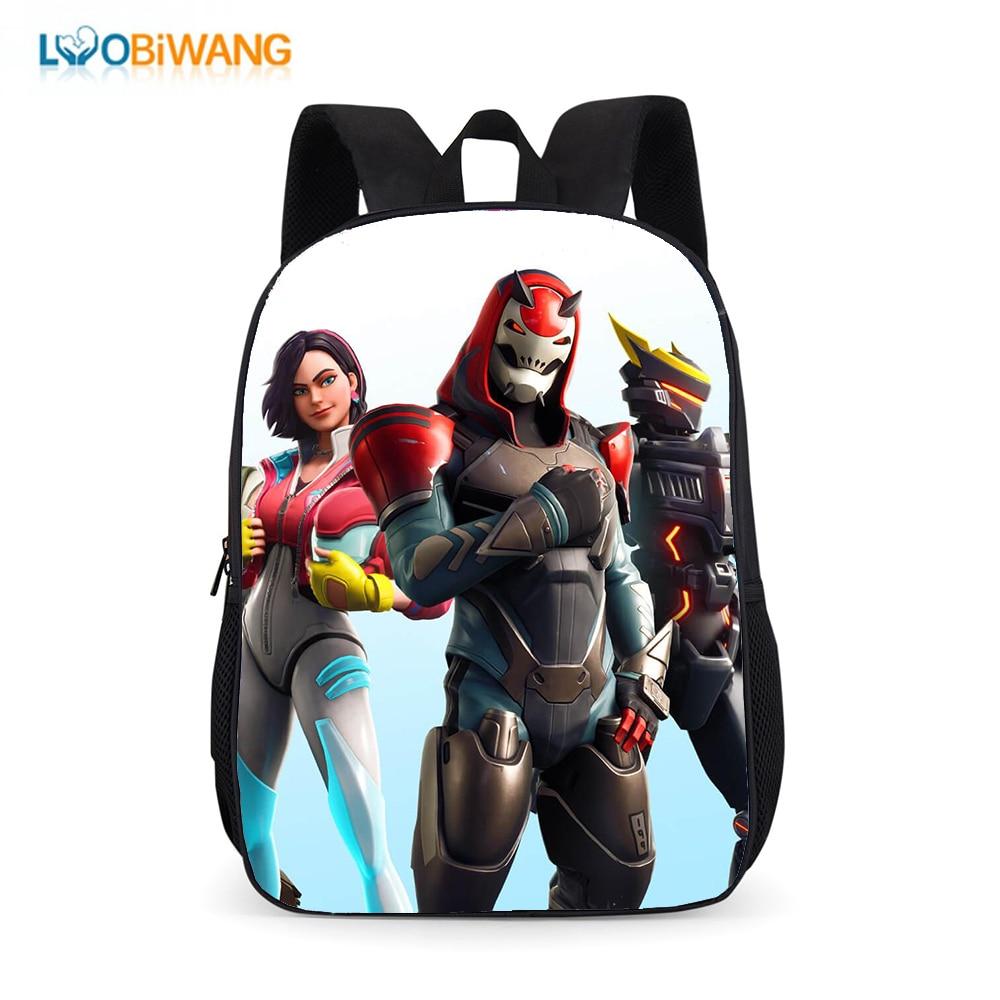 LUOBIWANG Battle Royale Children's School Backpack For Teenager Boys And Girls Kids School Bags Plecak Delune Mochila Bookbag