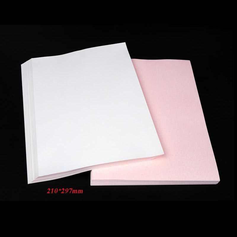 Wtsfwf, 100 uds/lotA4, papel de sublimación, papel de transferencia térmica para tazas, placas, cerámica, poliéster, camisetas, cojín de tela