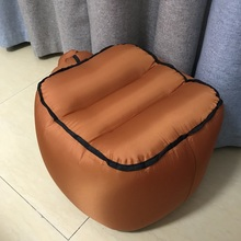 Naylon şişme tabure hava sandalye katlanır taşınabilir balıkçı taburesi bahçe mobilyaları kamp yürüyüş plaj dinlenme kanepe
