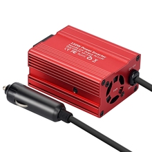 150W Power Inverter Dc 12V To 110V Ac Converter With 4.2A Dual Usb Car Charger Us Plug